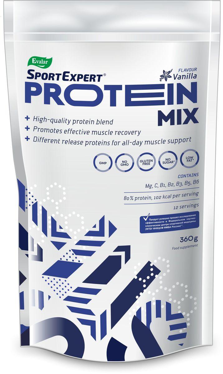 Протеиновый коктейль SportExpert  Protein Mix , ваниль, 360 г - Протеины