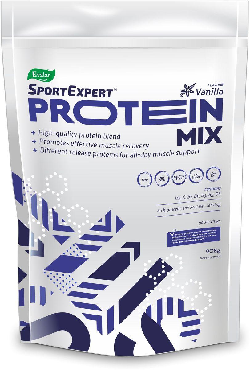 Протеиновый коктейль SportExpert  Protein Mix , ваниль, 908 г - Протеины