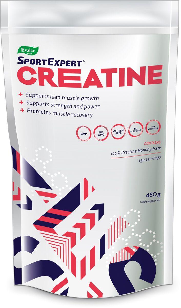 Креатин SportExpert Creatine, пакет, 450 г4602242009870100% моногидрат креатина - необходимый элемент для превращения энергии в организме. Спортивная добавка с доказанной безопасностью. SportExpert Creatine способствует:- Увеличению объема и рельефности мускулатуры. - Повышению силы и кратковременной анаэробной выносливости. Для эффективного усвоения креатина мышечными клетками рекомендуется принимать с большим количеством воды. Служит дополнительным источником креатина для вегетарианцев. Может использоваться при похудении - потеря жировых запасов идет за счет увеличения результативности тренировок, силовых показателей и восстановления. Порошок не имеет вкуса, обладает стабильностью при хранении. Преимущества SportExpert Creatine: - 100% чистый моногидрат креатина; - Легко растворяется; - 150 порций в одной упаковке; - Удобная упаковка с мерной ложкой внутри.Состав: креатина моногидрат.Как повысить эффективность тренировок с помощью спортивного питания? Статья OZON Гид