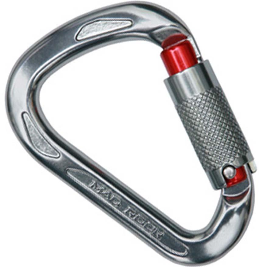 Карабин Mad Rock Ultra Tech Hms Triple Lock, цвет: серебристыйУТ000003677Облегченный скалолазный карабин с автоматической защелкой.Карабин Ultra Tech HMR Triple Lock эргономичной треугольной формы применяется в альпинизме и скалолазании для крепежа навесного оборудования.Автоматический механизм раскрытия тройного действия обладает высоким классом надежности.Макс нагрузка в продольном направлении: 26 KNМакс нагрузка в поперечном направлении: 9 KNМакс нагрузка в продольном направлении с открытой защелкой: 9 KNШирина раскрытия: 23 мм