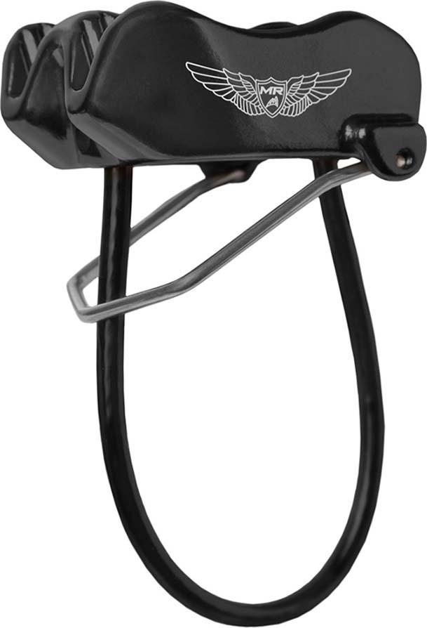 Спусковое страховочное устройсктво Mad Rock Wingman, цвет: черный