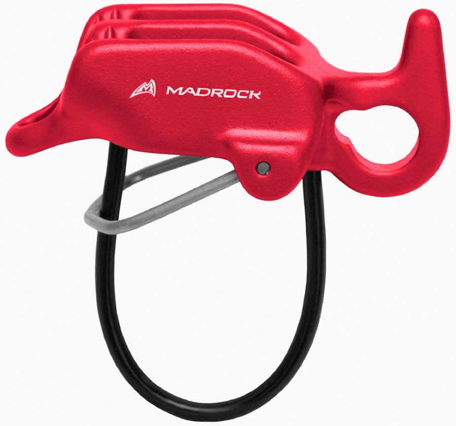 Спусковое страховочное устройство Mad Rock Aviator, цвет: красный