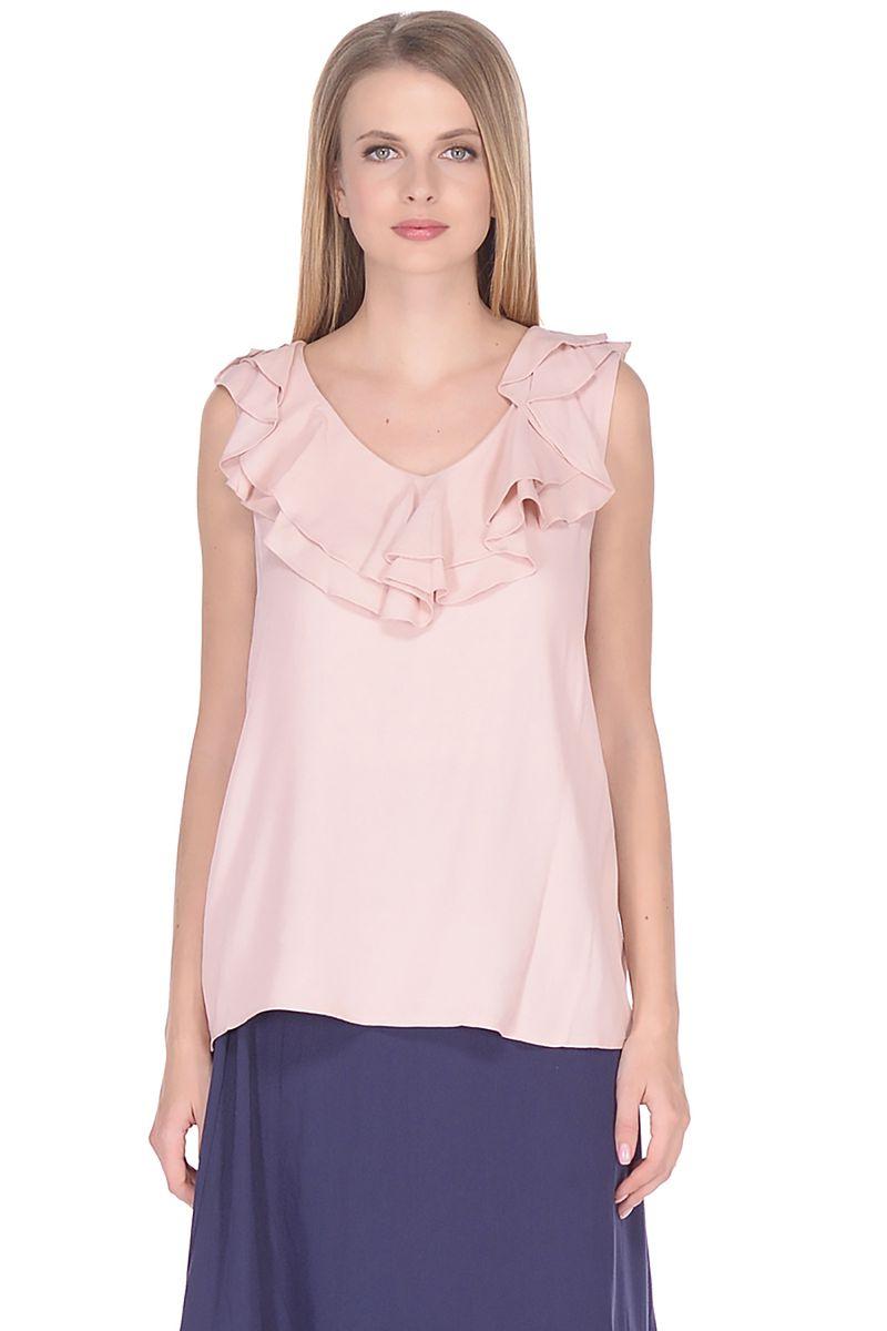 Топ женский Baon, цвет: розовый. B268010_Valerian. Размер L (48)
