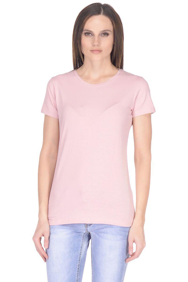 Футболка женская Baon, цвет: розовый. B238201_Valerian. Размер XL (50)
