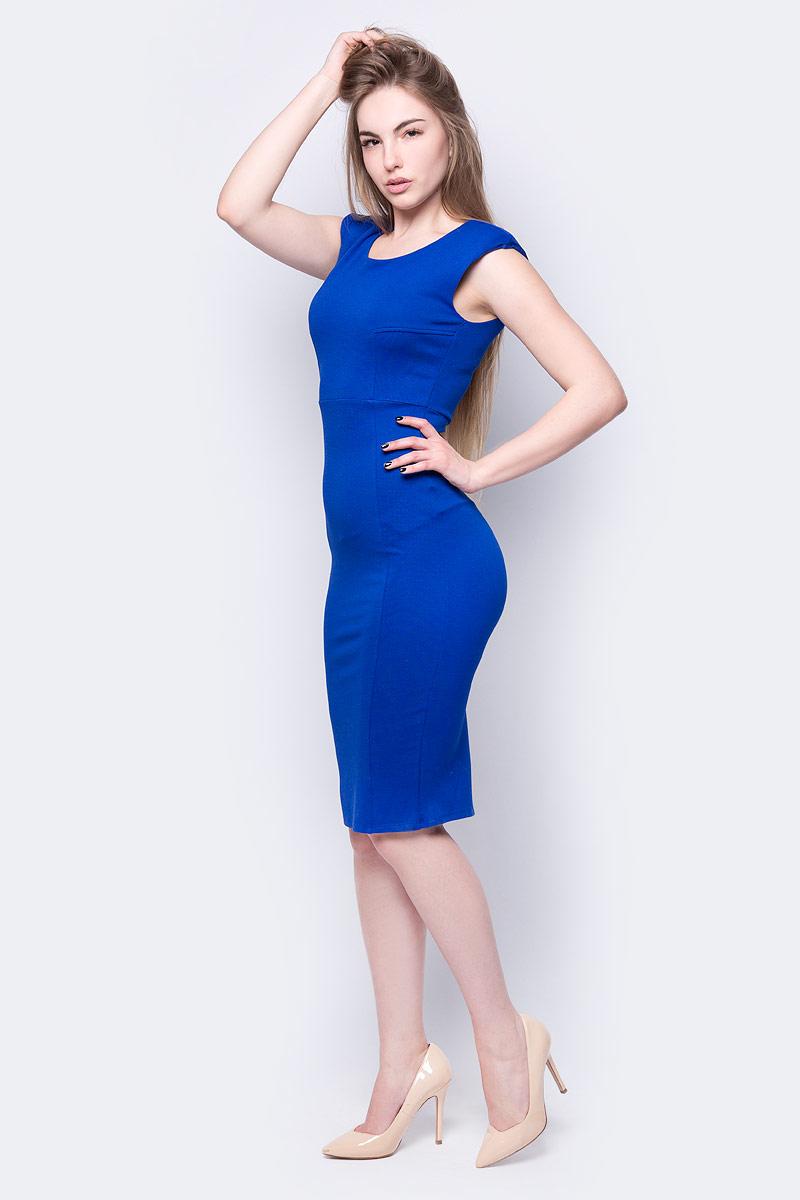 Купить Платье adL, цвет: голубой. 12433475000_022. Размер XS (40/42)