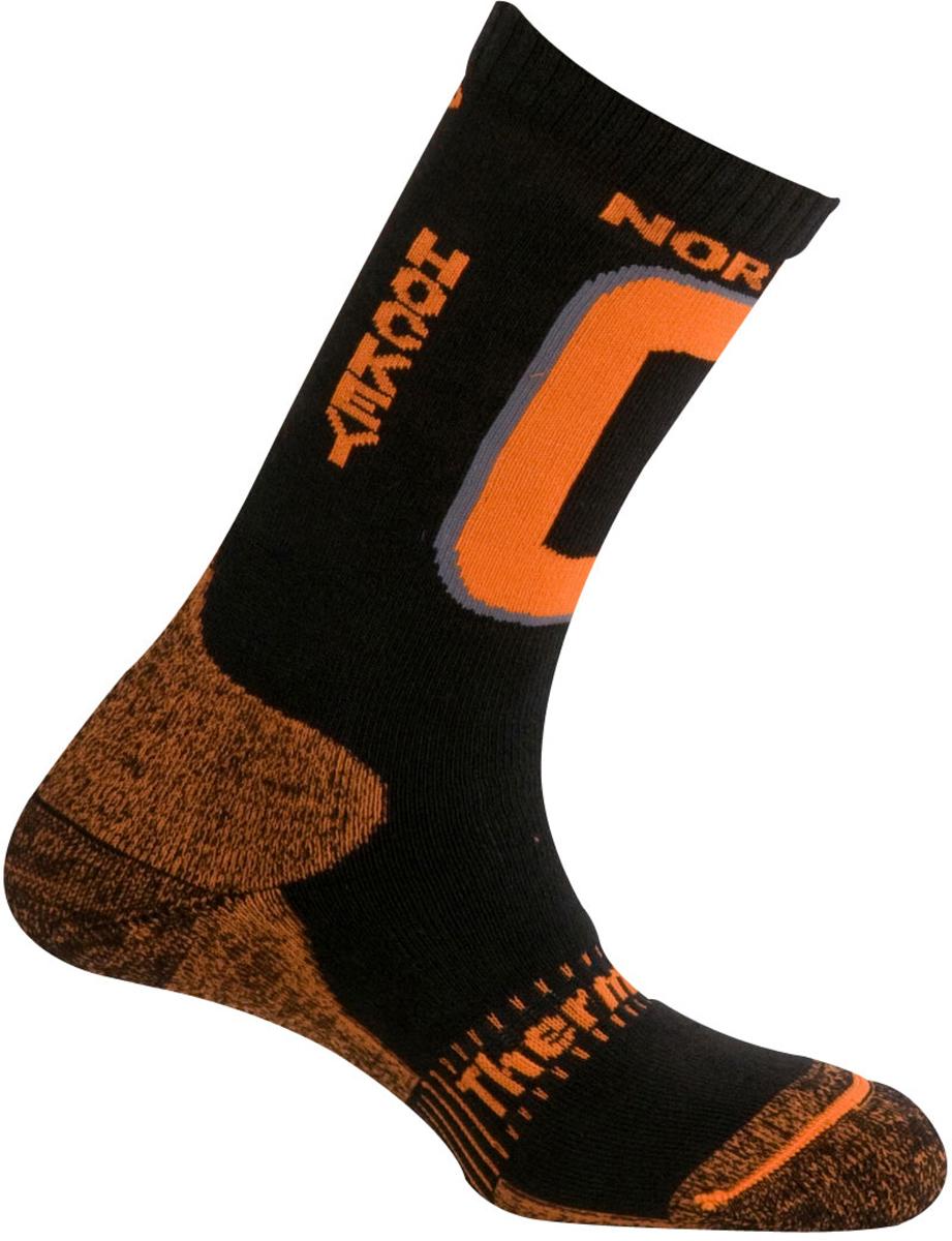 Термоноски Mund Nordic Skating Hockey, цвет: черный. 321_12. Размер 46/49321_12Зимние носки для игры в хоккей от Mund. Сохраняют тепло при температуре до -20°C. Использование волокон Thermolite обеспечивает комфорт сухого тепла, а так же отведение влаги с поверхности ступни. Сохраняет свои согревающие свойства во влажном состоянии. Носок содержит полиамид для прочности и эластан для оптимального облегания ноги.
