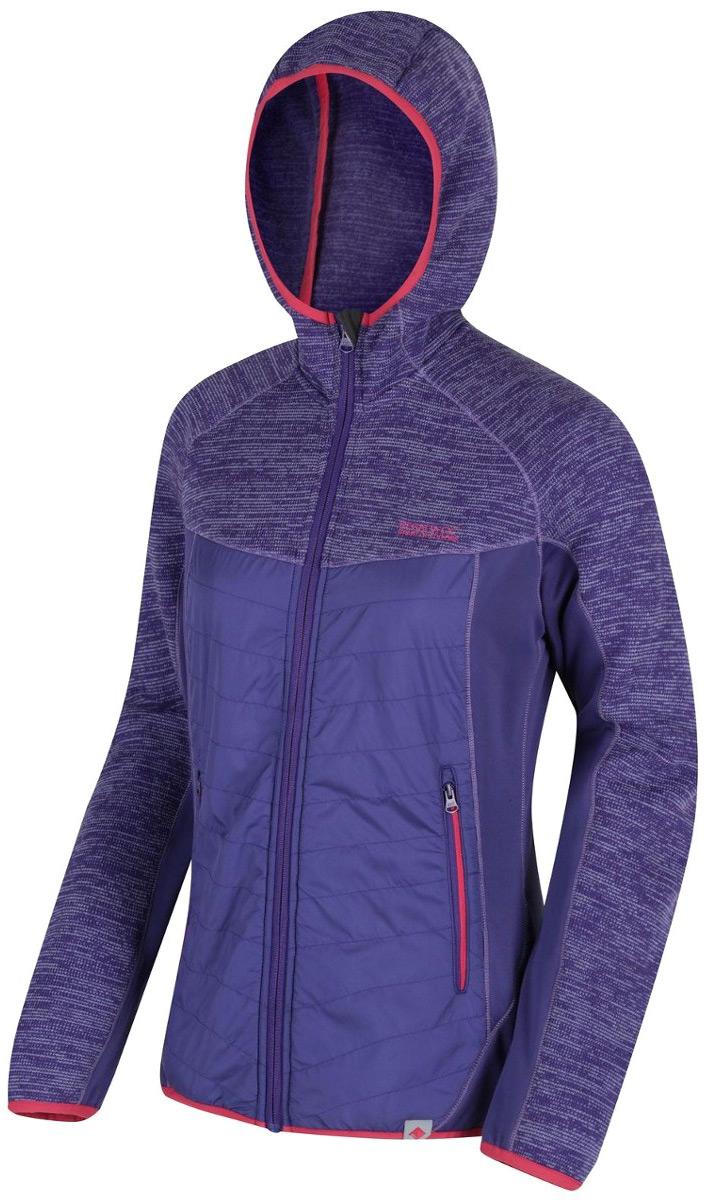 Куртка женская Regatta Wmn Rocknell Hybr, цвет: фиолетовый. RWA333-7KS. Размер 18 (50) куртка утепленная regatta regatta re036ewwnb24