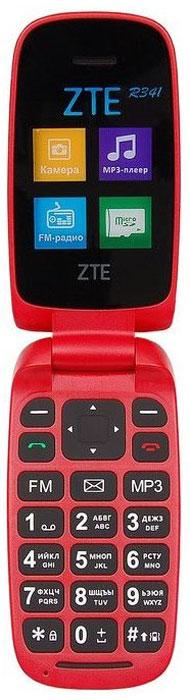 Фото - ZTE R341, Dark Red проводной и dect телефон foreign products vtech ds6671 3