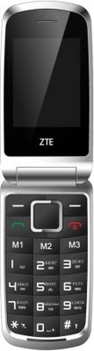 ZTE R340E, BlackZTE-R340E.BKСотовый телефон ZTE R340E – компактное и надежное средство связи, которое будет полезно как деловому человеку, так и обычному пользователю. Аппарат имеет форм-фактор раскладушки: используя его, вы исключите случайные нажатия клавиш. Особенностью конструкции модели является наличие тревожной кнопки.Сотовый телефон ZTE R340E оснащен дисплеем с диагональю, равной 2.4 дюйма. Разрешение экрана, составляющее 320x240, достаточно для комфортного восприятия информации. Телефон допускает использование 2 SIM-карт. Преимуществом устройства является наличие Bluetooth-интерфейса. 32-мегабайтную внутреннюю память телефона можно дополнить, установив карту памяти microSD, с объемом до 16 ГБ. Присутствует 0.3-мегапиксельная камера, которая нужна для фиксации на фотографиях важных для вас событий. Встроенный FM-радиоприемник позволит прослушивать радиопередачи.Телефон сертифицирован EAC и имеет русифицированную клавиатуру, меню и Руководство пользователя.