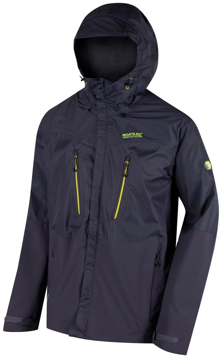 Купить Куртка мужская Regatta Cross Penine IV, цвет: темно-зеленый, светло-зеленый. RMW276-35Q. Размер S (48)