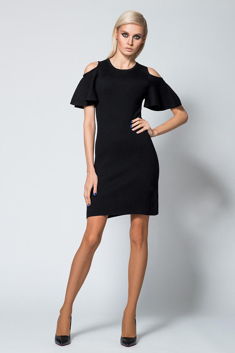 Платье Conso, цвет: черный. KWDM180707. Размер 42 (44)