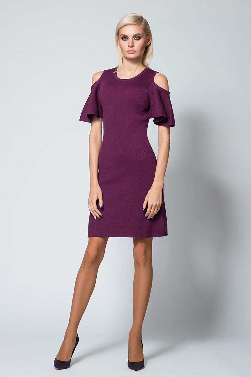 Платье Conso, цвет: фиолетовый. KWDM180707. Размер 46 (48)