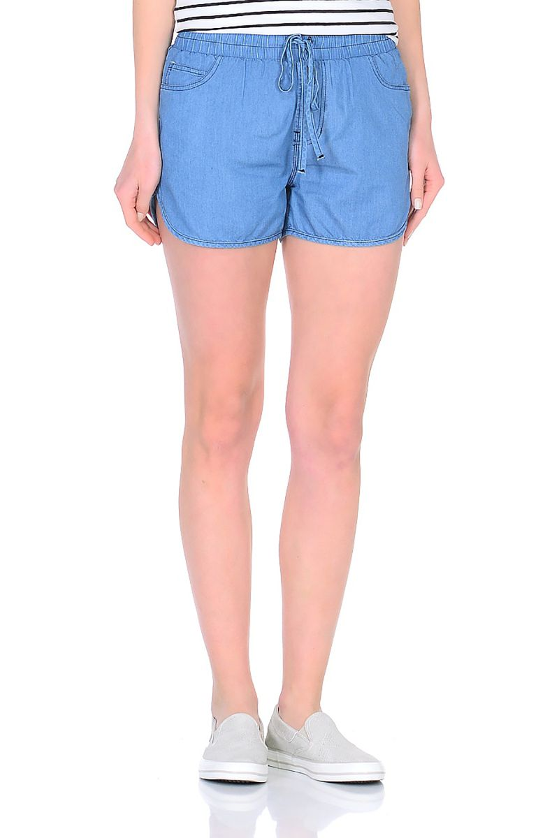 Шорты женские Baon, цвет: голубой. B328017_Blue Denim. Размер XL (50) шорты baon р l 50 page 5