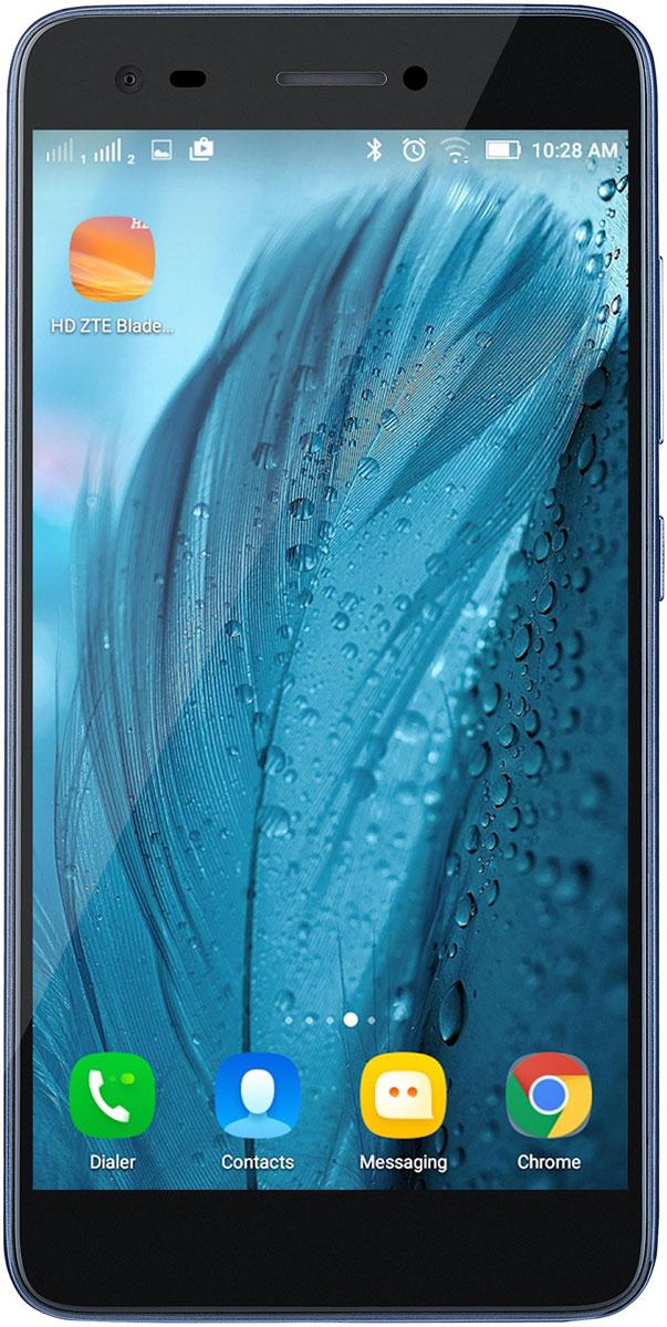 ZTE Blade A6 Max, BlueZTE-BLADE.A6.MX.BLСмартфон ZTE Blade A6 Max имеет большой экран и емкой батареей.2.5D изогнутое стеклоHD дисплей 5.5 дюймов, четкий, динамичный, яркий. Красиво выглядит, приятно использовать.Литий-ионная батарея 4000 мАч дает вам уверенность в работе смартфона на протяжении 2-х дней или один месяц в режиме ожидания. Она обеспечивает бесперебойную работу ваших любимых приложений.Благодаря технологии OTG (On-The-Go) и емкости аккумулятора 4000 мАч, можно использовать ZTE Blade A6 Max как Power Bank, для того чтобы зарядить смартфон вашего друга с 0% до 100%. Также можно подключить клавиатуру , мышь, джойстик и т. п.Телефон сертифицирован EAC и имеет русифицированный интерфейс меню и Руководство пользователя.