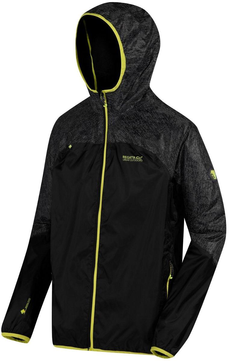 Куртка мужская Regatta Levin II, цвет: черный. RMW280-800. Размер XXL (58/60) куртка утепленная regatta regatta re036ewwnb24