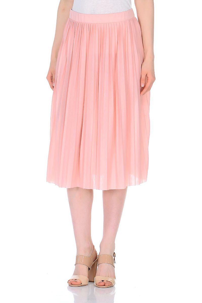 Юбка Baon, цвет: розовый. B478033_Valerian. Размер XL (50)