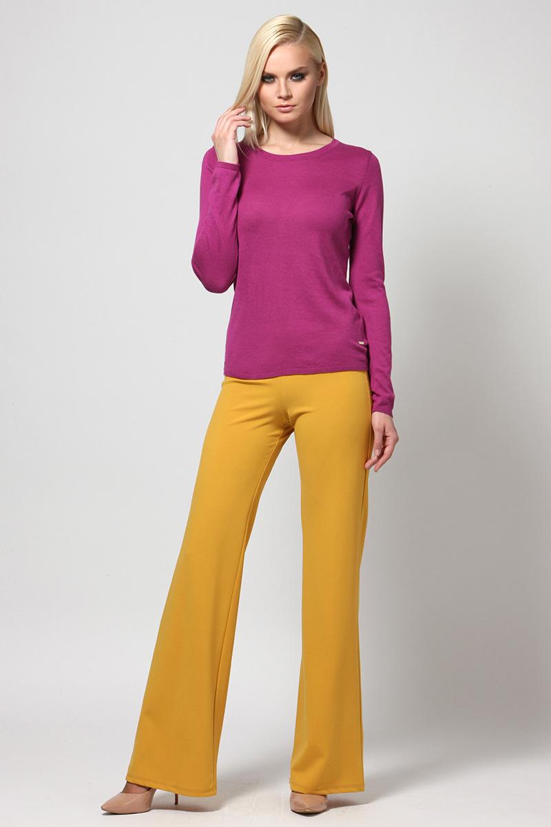 Джемпер женский Conso, цвет: фуксия. KWJS180727. Размер 46 (48) джемпер женский conso цвет желтый kwjs180721 размер 46 48