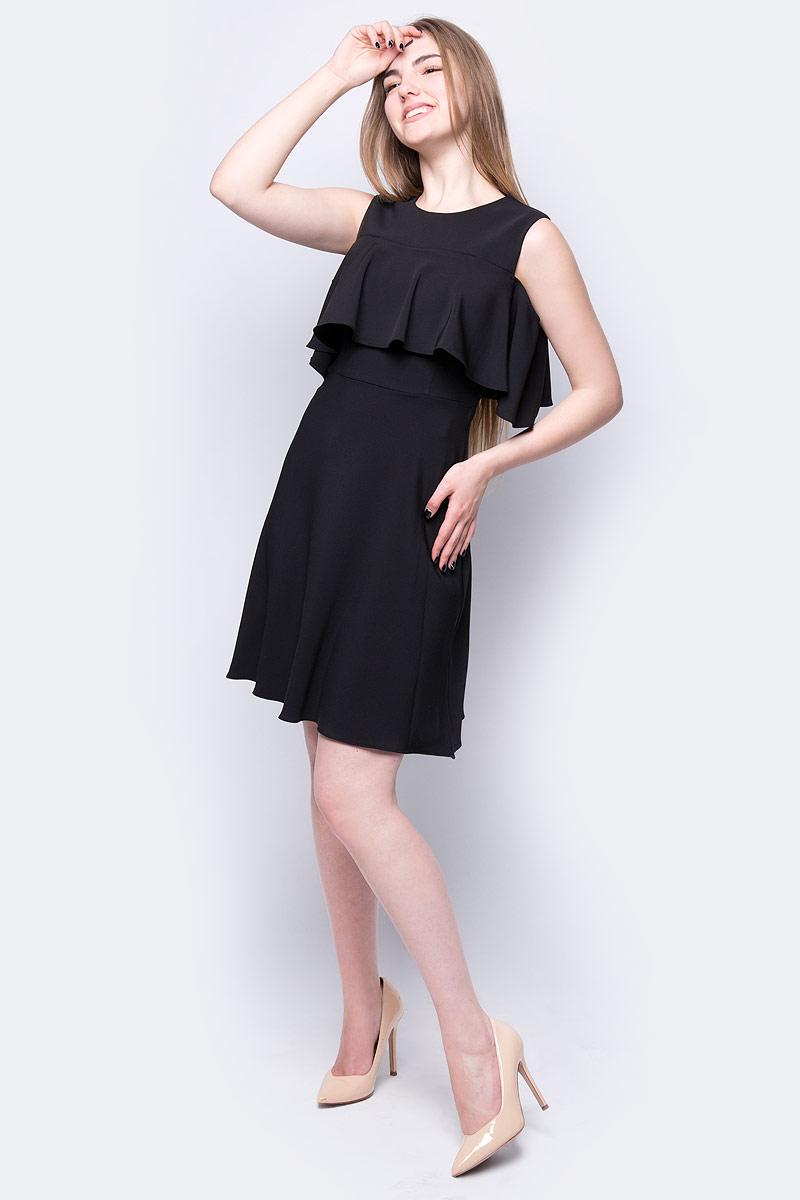 Платье adL, цвет: черный. 12430506002_001. Размер XS (40/42) платье adl adl ad005ewzad66