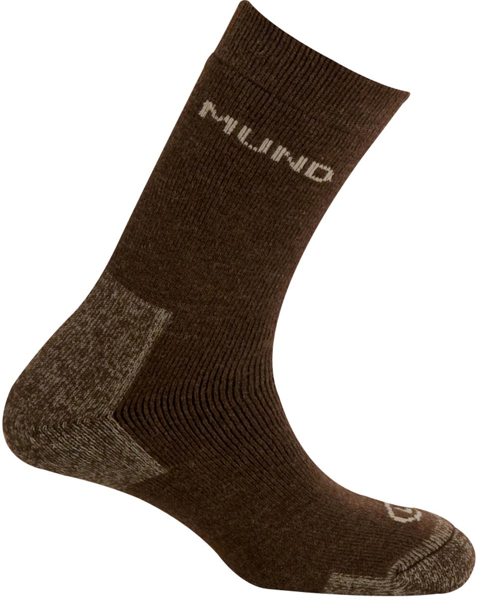 Носки Mund Arctic, цвет: коричневый. 430_6. Размер 36/40