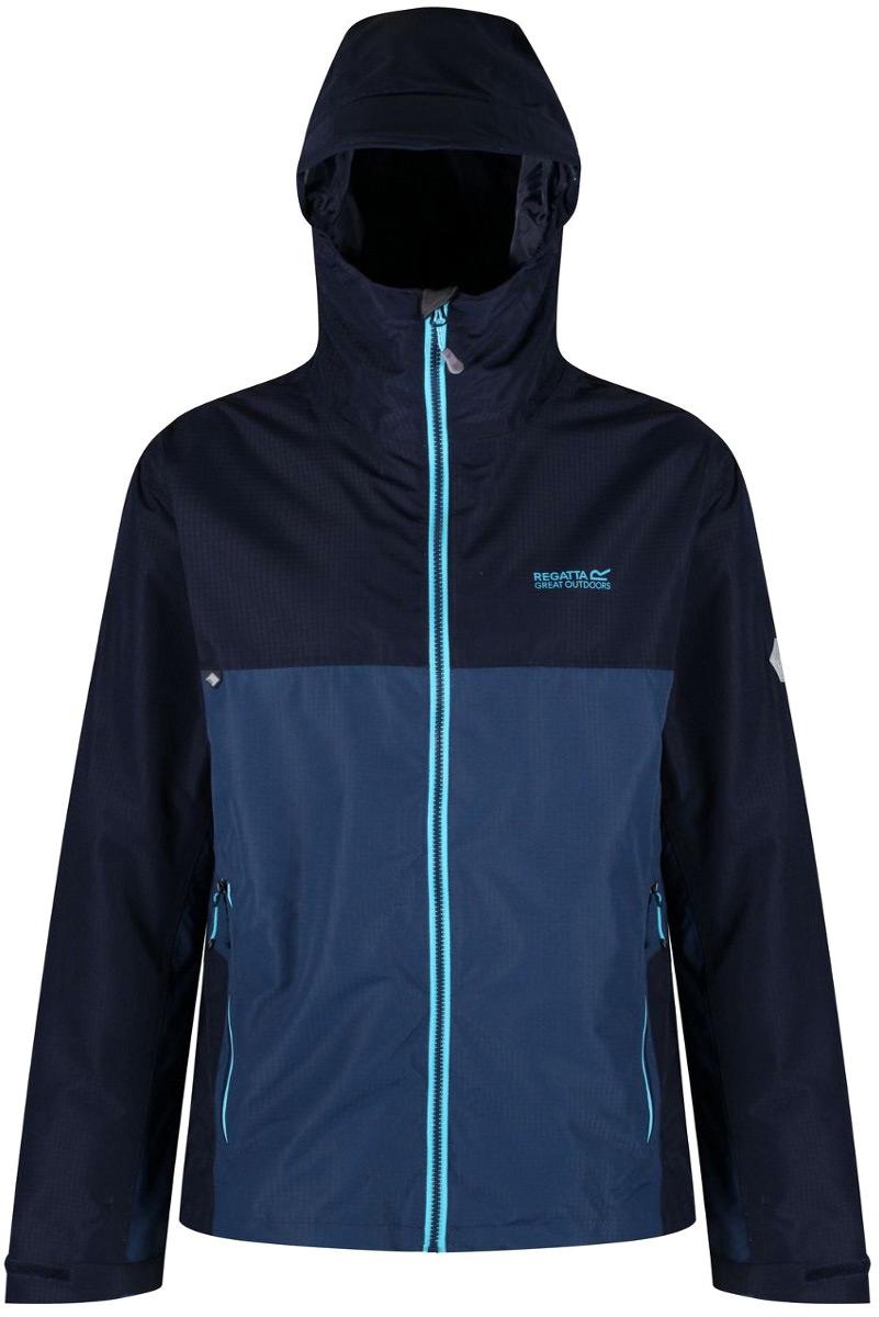 Куртка мужская Regatta Semita II, цвет: синий. RMW277-5ZR. Размер XL (56) куртка утепленная regatta regatta re036ewwnb24