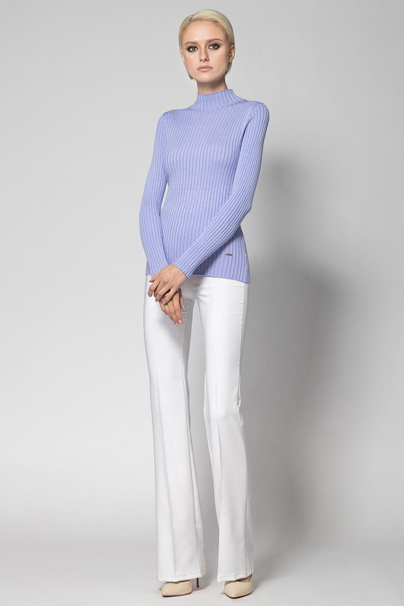 Водолазка женская Conso, цвет: сиренево-голубой. KWTS180734. Размер 48 (50) куртка женская conso цвет бордовый ss180119 размер 46 48