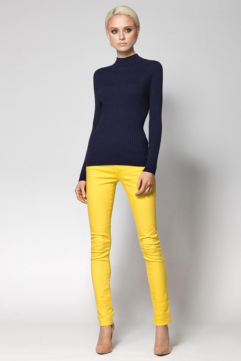 Водолазка женская Conso, цвет: темно-синий. KWTS180734. Размер 44 (46) пуловер conso wear conso wear co050ewbbsv9