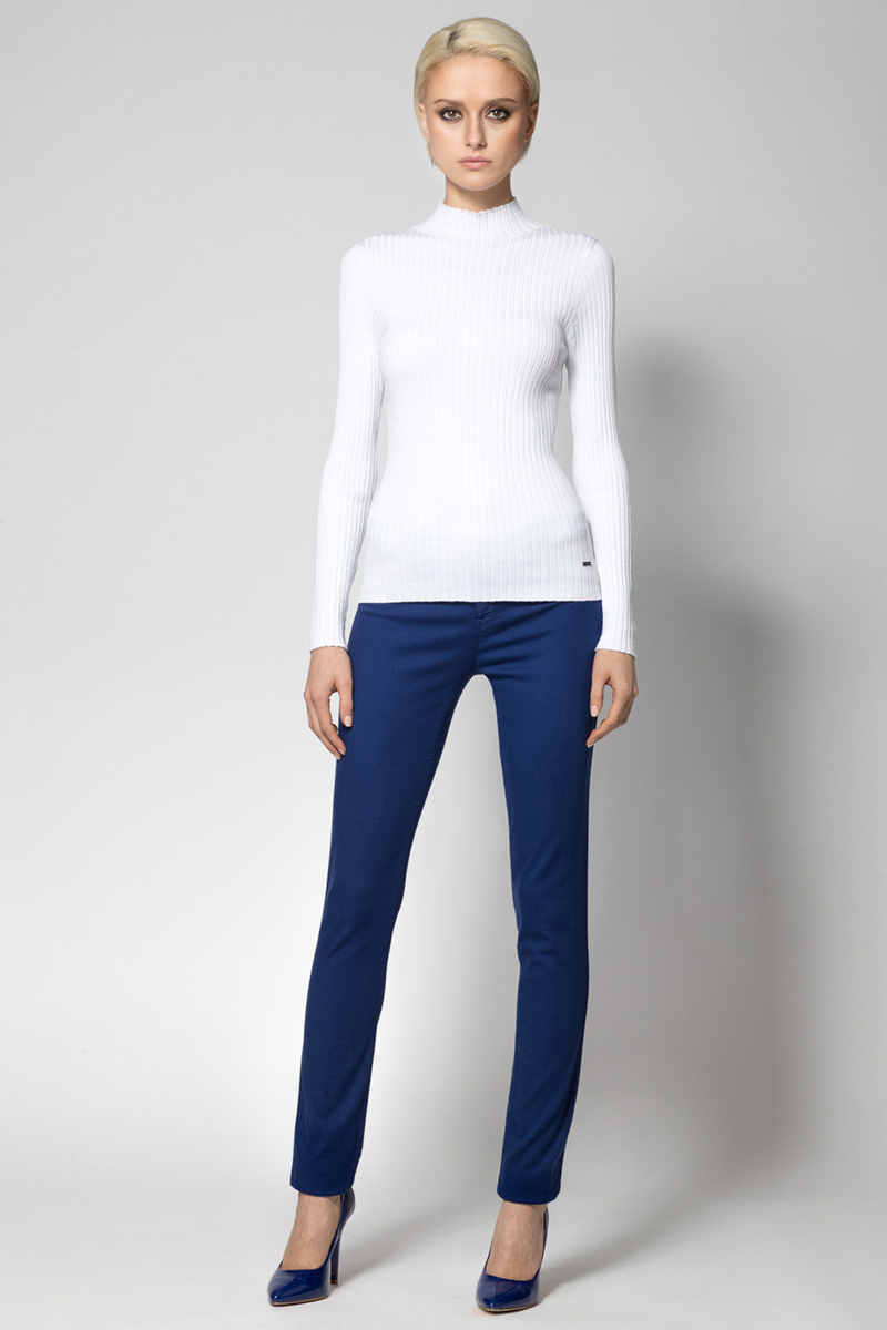 Водолазка женская Conso, цвет: белый. KWTS180734. Размер 48 (50) пуловер conso wear conso wear co050ewbbsv9