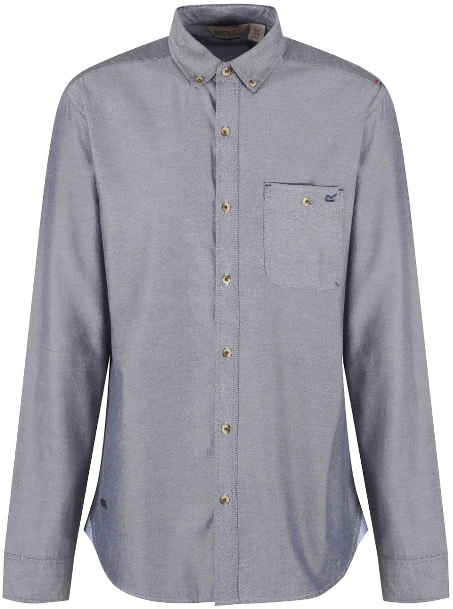 Рубашка мужская Regatta Bacchus, цвет: шамбре. RMS103-H18. Размер XXL (58/60)