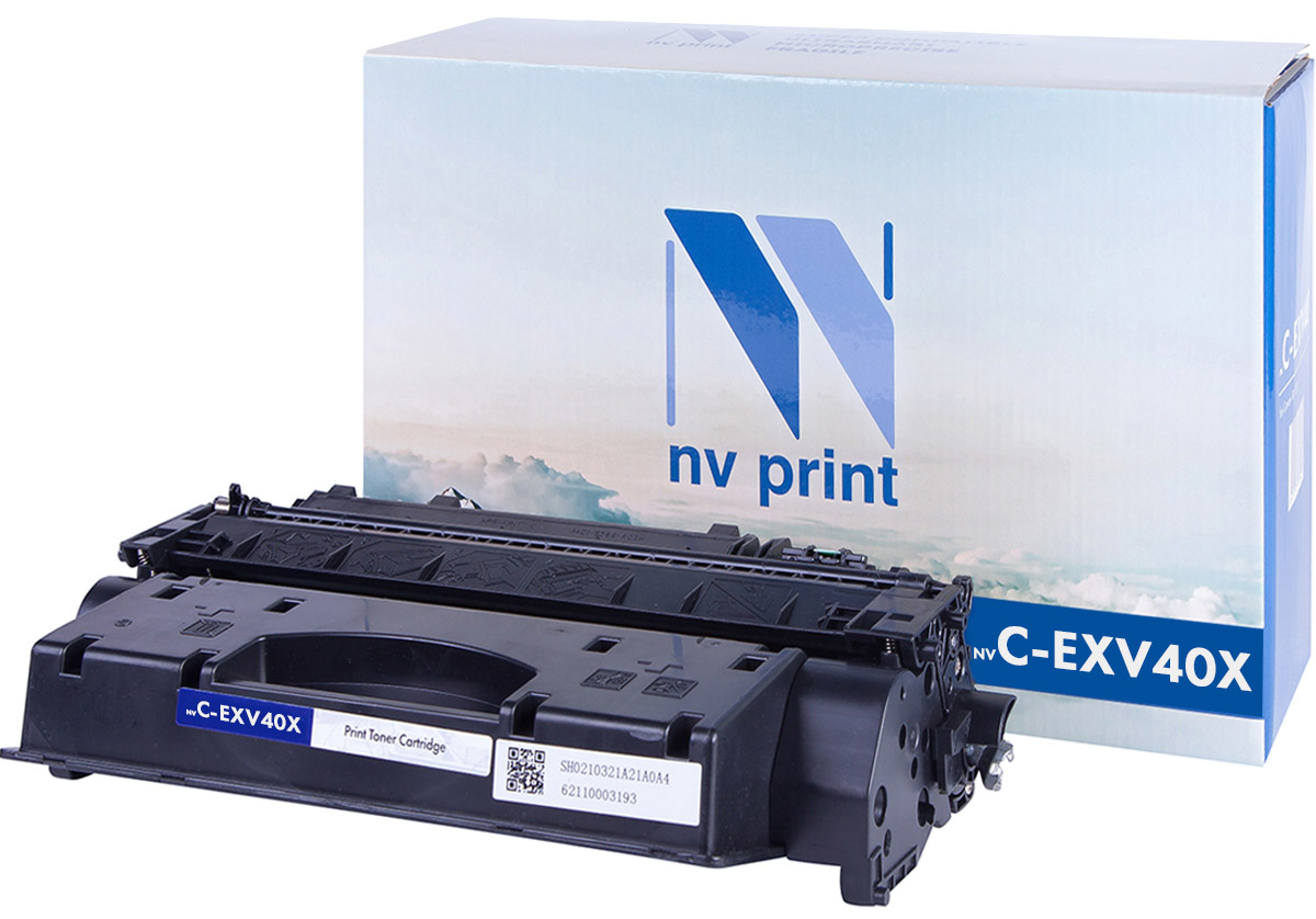 NV Print CEXV40X, Black тонер-туба для Canon iR-1133 картридж для принтера nv print canon ep 22 black