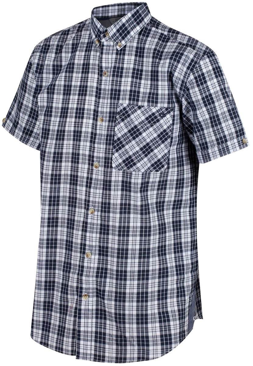 Рубашка мужская Regatta Eathan, цвет: синий. RMS105-540. Размер M (50)