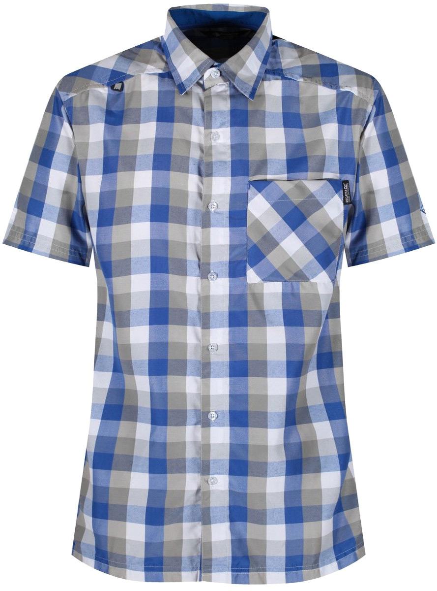 Рубашка мужская Regatta Kalambo III, цвет: синий. RMS111-15. Размер XL (56)