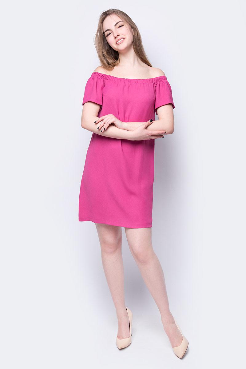 Платье adL, цвет: фуксия. 12431044002_008. Размер XS (40/42)