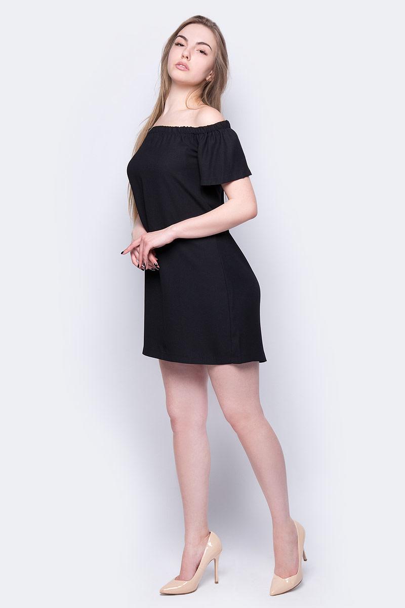 Платье adL, цвет: черный. 12431044002_001. Размер XS (40/42) платье adl adl ad005ewqdk48
