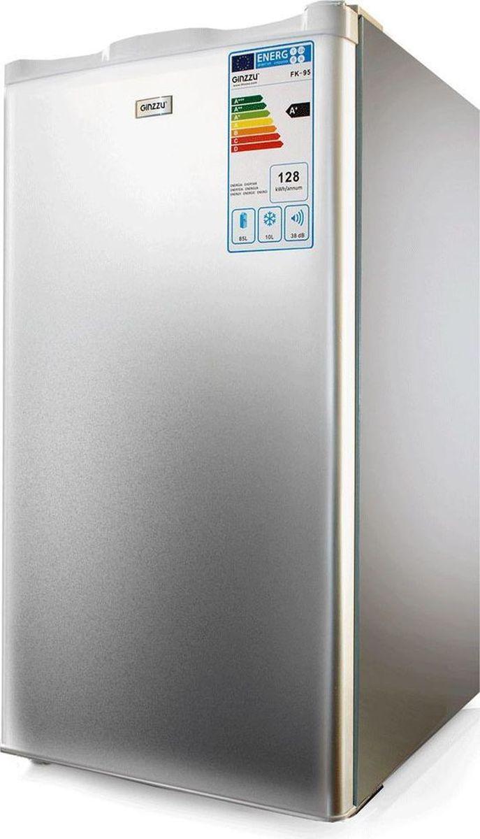 Ginzzu FK-97, Silver холодильник холодильник galanz bcd 217t