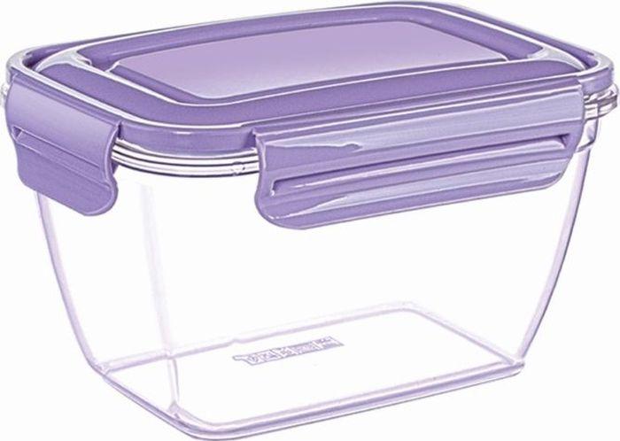 """Воздухонепроницаемый контейнер """"DD Style"""" выполнен из пластика. Контейнер поможет вам хранить и транспортировать продукты питания без потери полезных свойств и вкуса.  Объем: 3 л."""