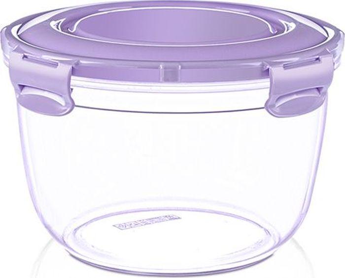 """Воздухонепроницаемый контейнер """"DD Style"""" выполнен из пластика. Контейнер поможет вам хранить и транспортировать продукты питания без потери полезных свойств и вкуса.  Объем: 2,1 л."""