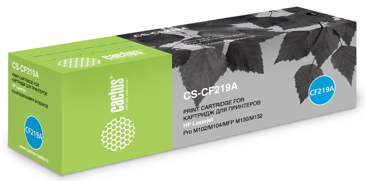 Cactus CS-CF219A, Black фотобарабан для HP M104a Pro/M104w Pro/M132a Pro/M132fn Pro