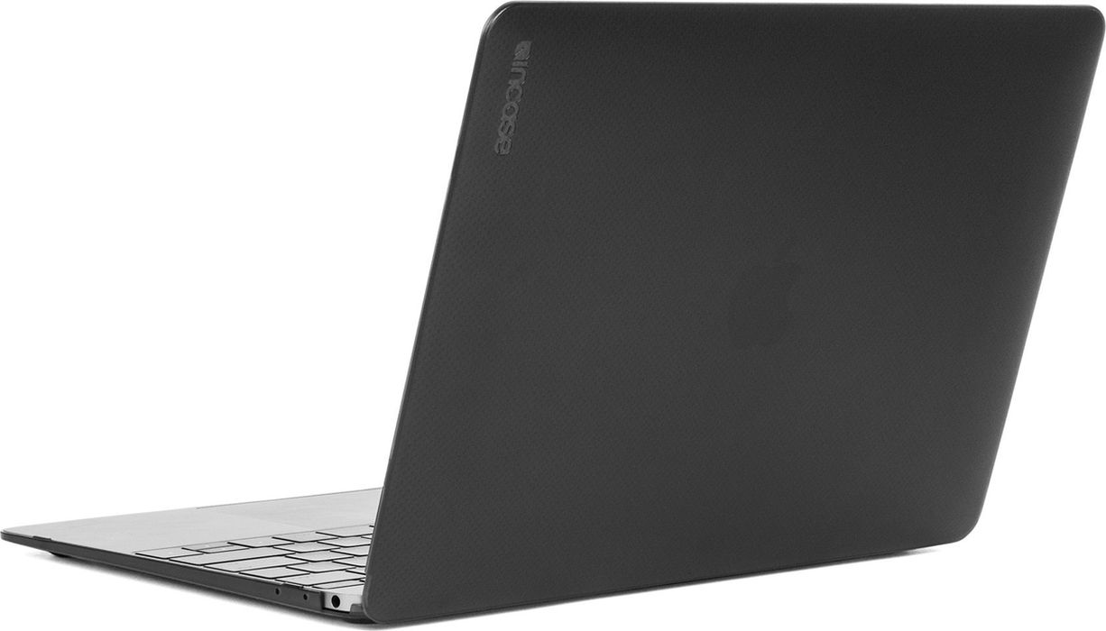 Incase Hardshell  Dots чехол для Apple MacBook 12, Black Frost