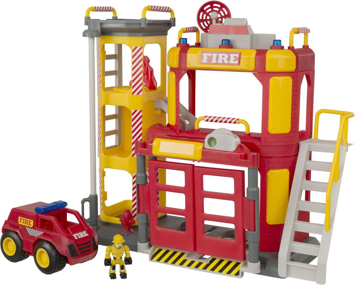 HTI Большая пожарная станция Teamsterz hti большая пожарная станция teamsterz