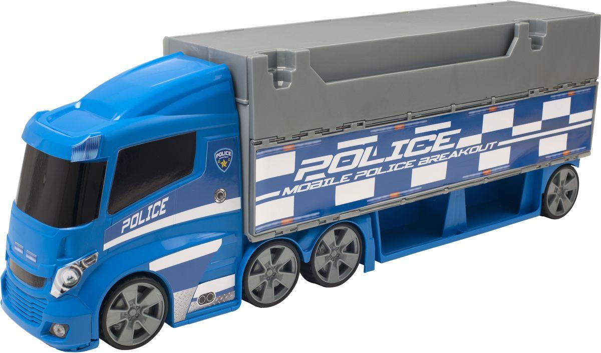 купить HTI Игрушечный трек Полицейский грузовик по цене 3149 рублей