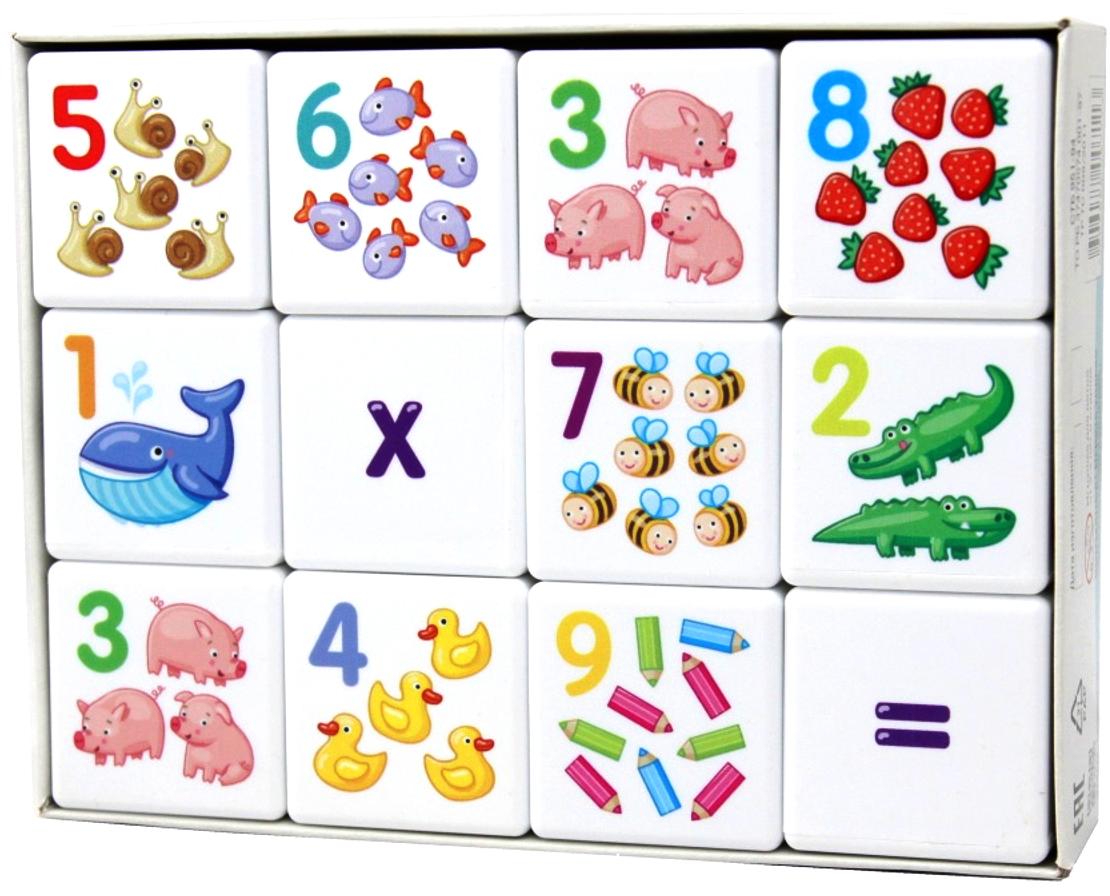 Десятое Королевство Кубики для умников Арифметика десятое королевство кубики малыш летим плывем едем