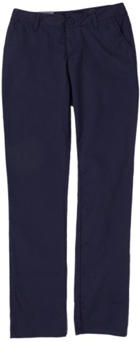 Брюки женские Columbia Kenzie Cove Slim Pant, цвет: темно-синий. 1773221-591. Размер 6 (46)1773221-591Стильные женские брюки Columbia изготовлены из высококачественного материала. Ткань необычайно мягкая и приятная на ощупь, позволяет коже дышать, не раздражает даже самую нежную и чувствительную кожу, обеспечивая наибольший комфорт. Модель с ширинкой на застежке-молнии на талии застегивается на пуговицу и имеет шлевки для ремня. В модели предусмотрено 4 функциональных кармана. Удобные и практичные женские брюки от Columbia - отличный вариант для летних путешествий.