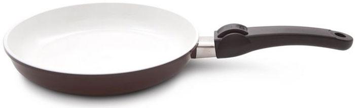 Сковорода SKK CeraPro, со съемной ручкой, диаметр 24 см, высота стенок 4,5 см сковорода 24 см pensofal сковорода 24 см