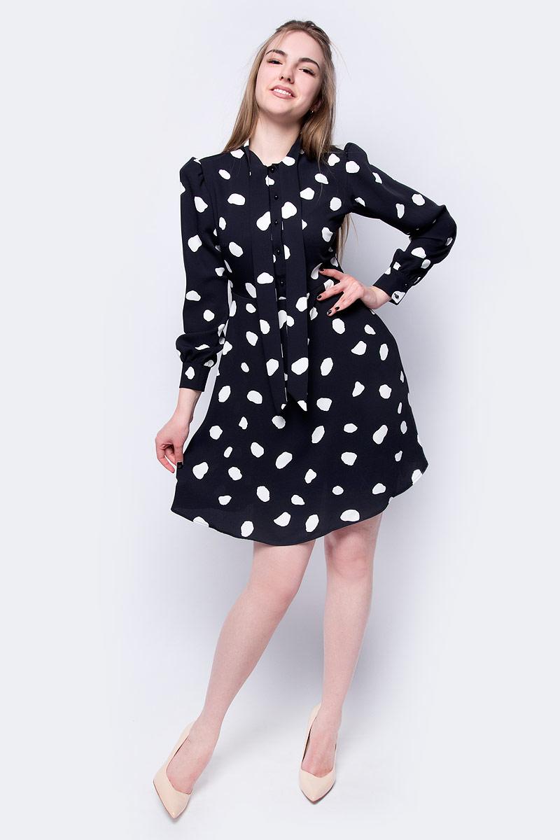 Купить Платье adL, цвет: черный. 12433526001_201. Размер XS (40/42)