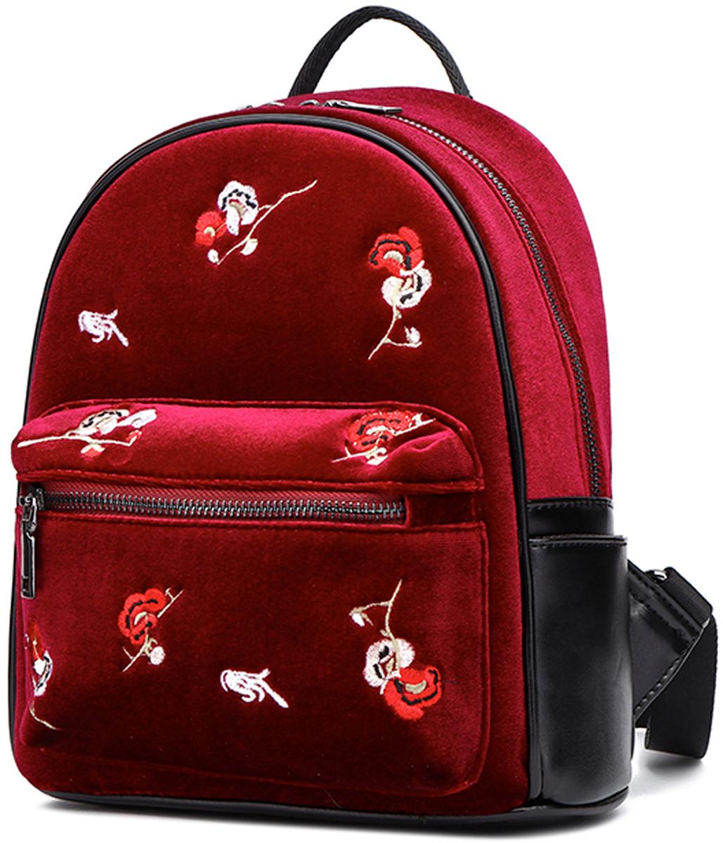Рюкзак женский DDA, цвет: красный. DDA LB-2063RD