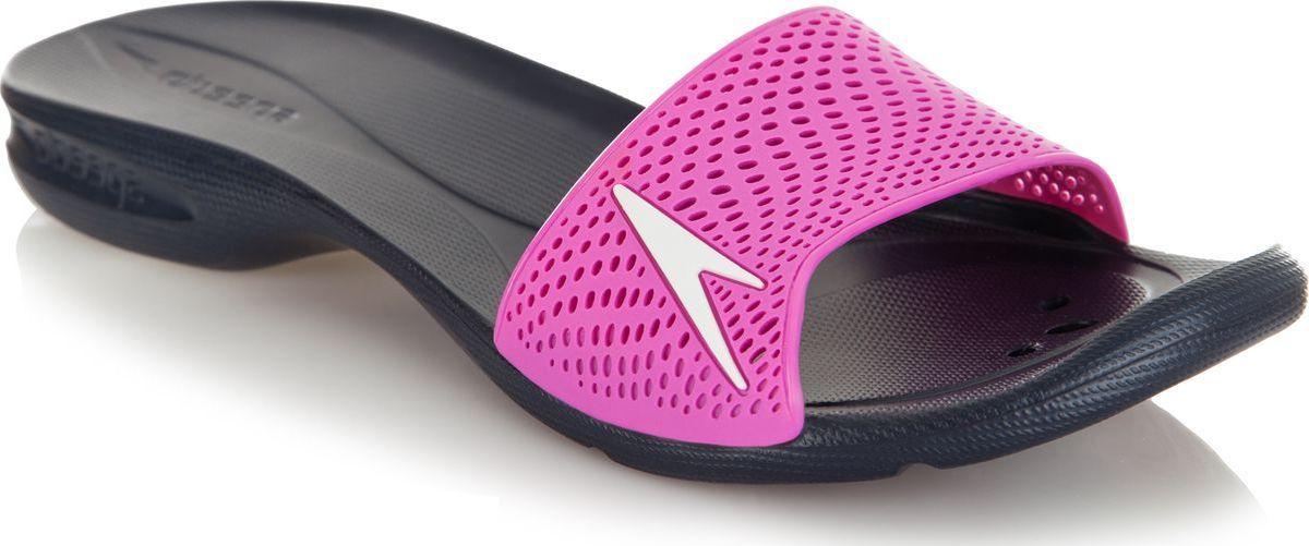 Шлепанцы женские Speedo Atami II Max, цвет: темно-синий, ярко-розовый, белый. 8-09188C460-C460. Размер 8 (39,5) speedo speedo aquapulse max