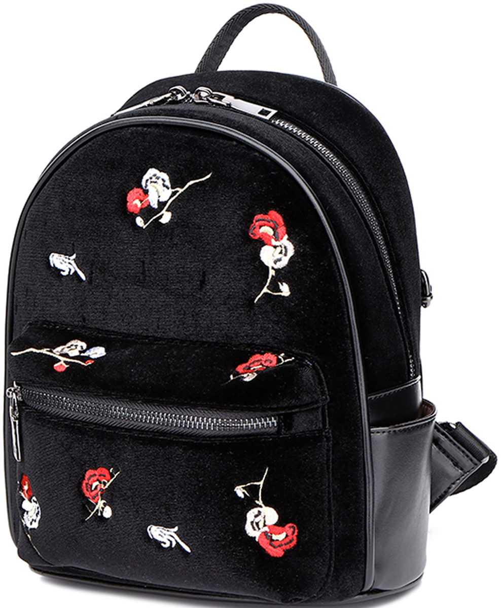 Рюкзак женский DDA, цвет: черный. DDA LB-2061BK