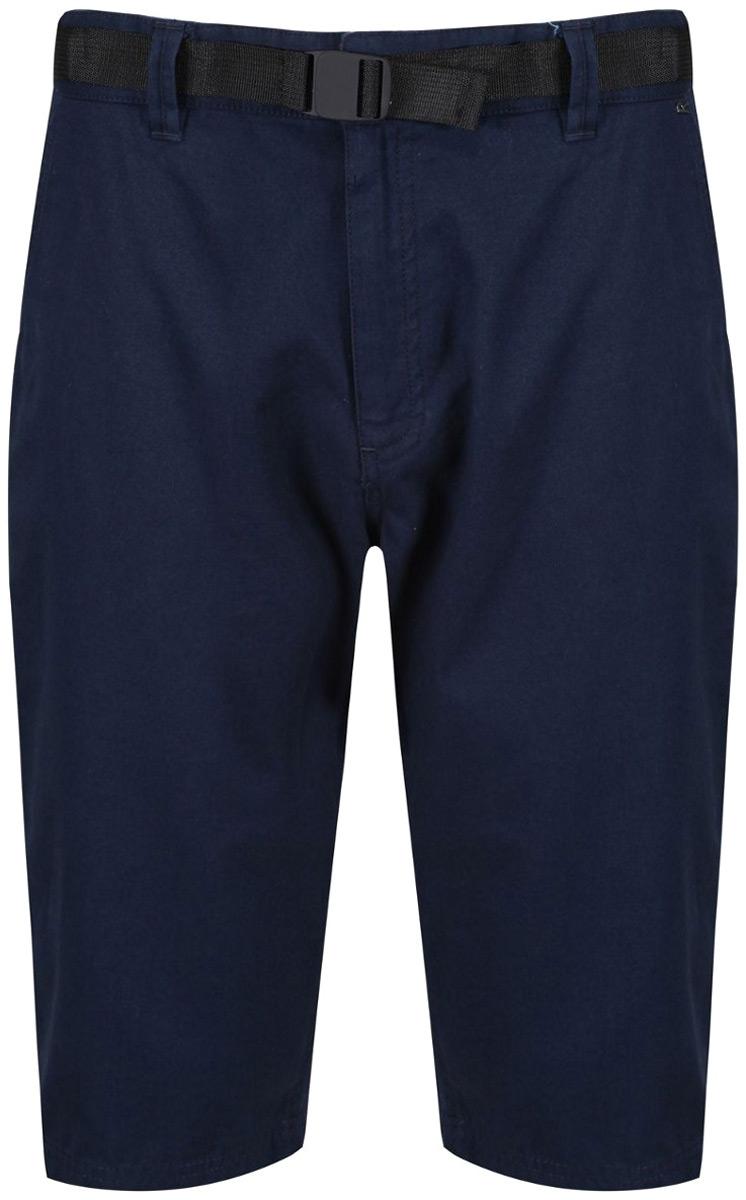 Шорты мужские Regatta Salvador Short, цвет: синий. RMJ205-540. Размер 34 (50)RMJ205-540Шорты от Regatta выполнены из натурального хлопка. Комфортные шорты винтажного вида. Два кармана по бокам, два задних кармана. В поясе застегиваются на пуговицу и имеют ширинку на молнии.