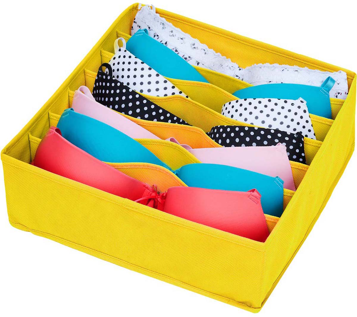Этот органайзер специально придуман для хранения самой привлекательной, дорогой и красивой части женского интимного гардероба - бюстгальтера.