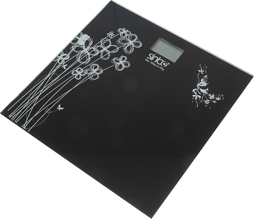 Sinbo SBS 4429, Black весы напольные электронные кухонные весы sinbo весы кухонные электронные sinbo sks 4507